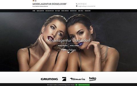 Webdesign Modelagentur Düsseldorf