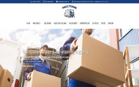 Webdesign für Umzugsunternehmen-Augsburg